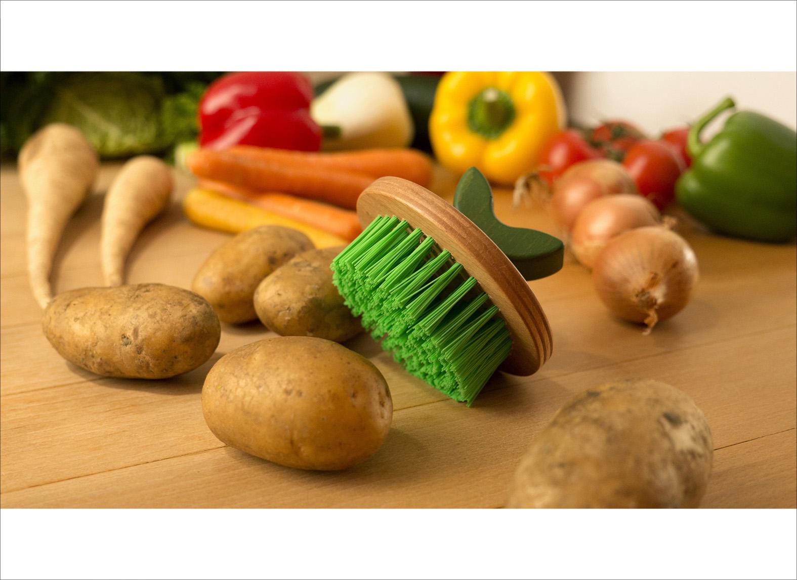 vegetable brush brush.up